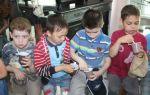 Праздник каши в начальной школе