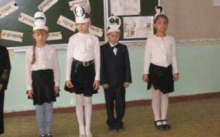 Прощание с начальной школой 4 класс. сценарий