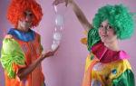 Сценарий на день рождения ребенка с клоунами