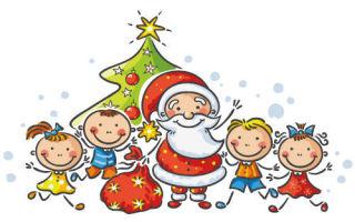 Новогодние стихи для дошкольников. сани-розвальни
