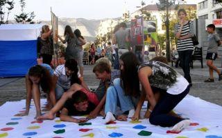 Имитационная игра в лагере