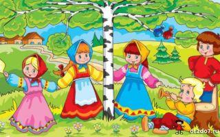 Хороводные игры для детей 5-6 лет в детском саду картотека