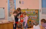 Конспект занятия в подготовительной группе на тему: правила поведения в детском саду