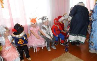 Зимние праздники для детского сада. сценарии. средняя группа