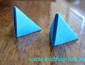 Модульное оригами для начинающих. Стрекоза