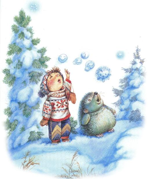 Зимние стихи. Пришла зима с морозами