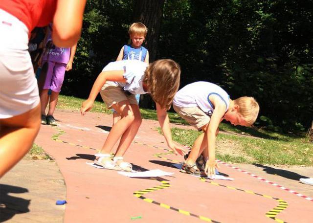 Игровая программа для детей младшего школьного возраста в помещении