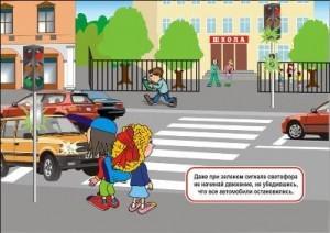 Внеклассное мероприятие по правилам дорожного движения в начальной школе