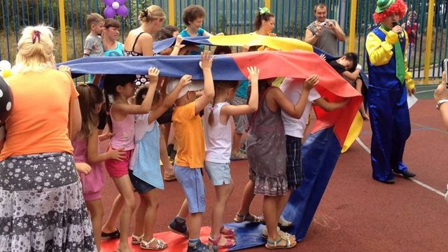 Игры на праздниках в начальных классах