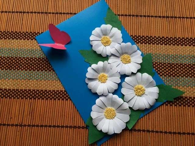 Поделки из бумаги и картона для детей