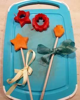 Летние поделки для детей из природных материалов