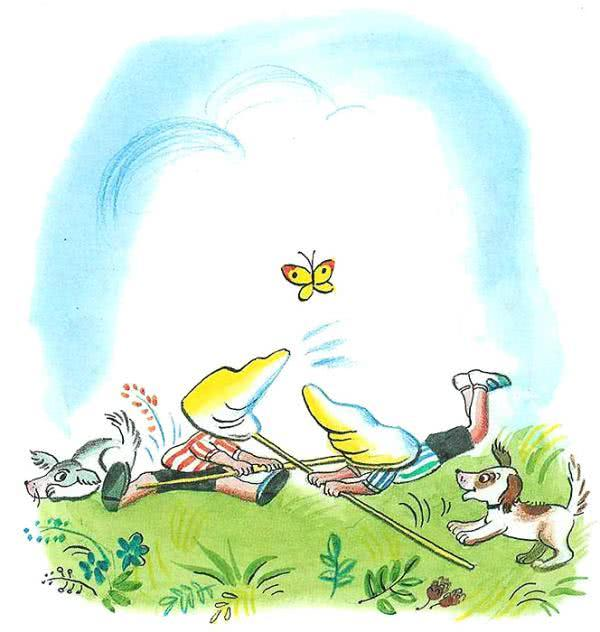 Про бабочку для детей 6-7 лет