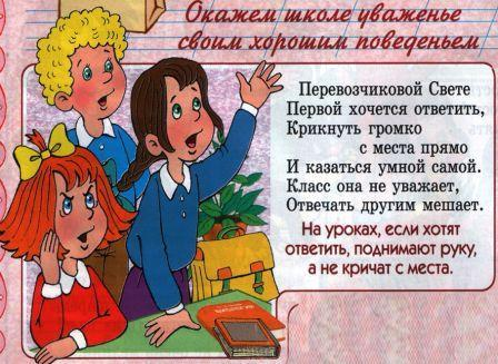 Классный час для начальной школы. Правила поведения в гостях