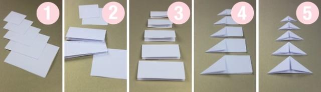 Открытка из бумаги своими руками