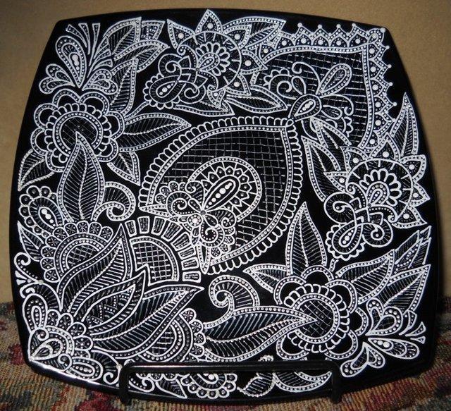 Декоративные тарелки из ткани своими руками. Мастер-класс