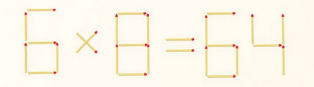 Логические игры со спичками для младших школьников