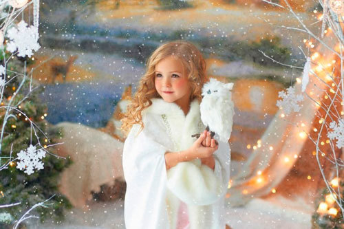 Новогодние стихи для дошкольников. Снежинки