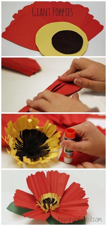 Аппликация из цветной бумаги своими руками для детей. Арктика