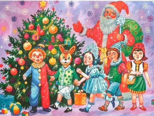 Новогодние стихи для детей дошкольников