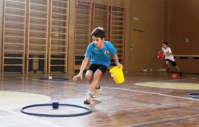 Спортивный конкурс для начальных классов