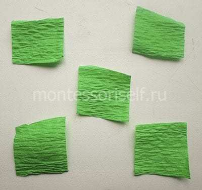 Детские поделки из бумаги. Одуванчик своими руками