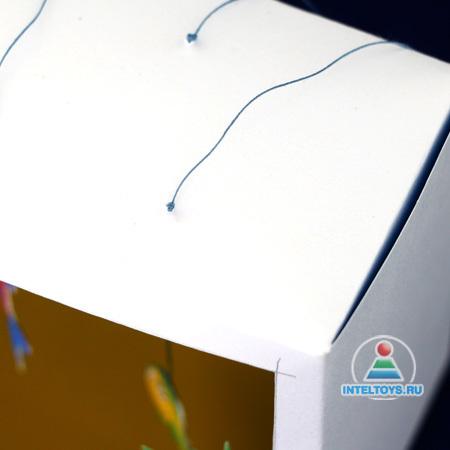 Красивые поделки из картона своими руками. Аквариум