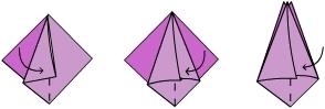 Оригами. Тюльпан