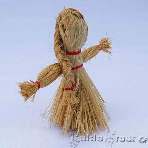 Кукла из соломы своими руками. Мастер-класс