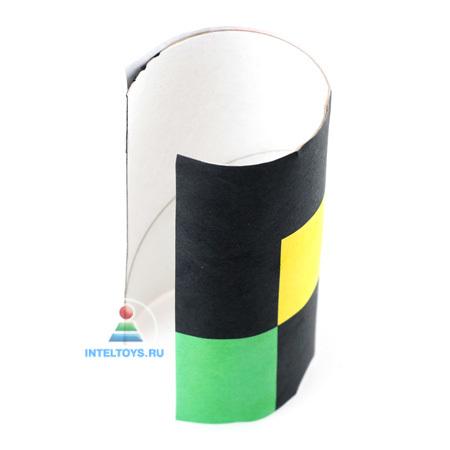 Светофор своими руками из бумаги и картона пошагово с фото