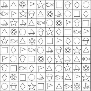 Игры с геометрическими фигурами для детей 4-5-6 лет