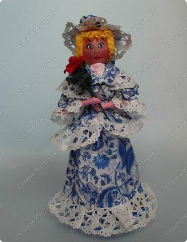 Поделка из салфеток. Кукла Неваляшка своими руками