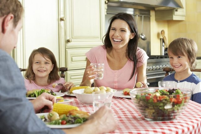 Занятие на тему «Поведение за столом» для детей 5-7 лет