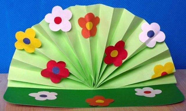 Летние поделки из бумаги своими руками. Летний букет