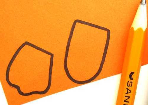 Поделки из бумаги для детей. Уточка