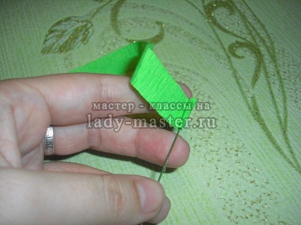 Гиацинты из гофрированной бумаги своими руками. Мастер-класс