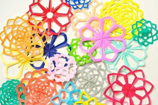 Летние цветы из бумаги в технике оригами