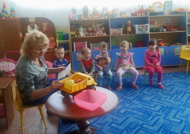 Конспект занятия в группе раннего возраста. Фрукты: лимон и апельсин