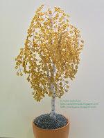 Деревья из бисера своими руками. Мастер-класс