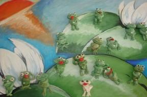 Комплексное занятие в старшей группе детского сада по ФГОС
