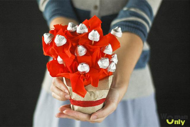 Букет из конфет своими руками. Мастер-класс