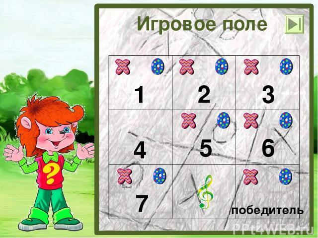 Игра «Крестики – нолики» для 2 класса