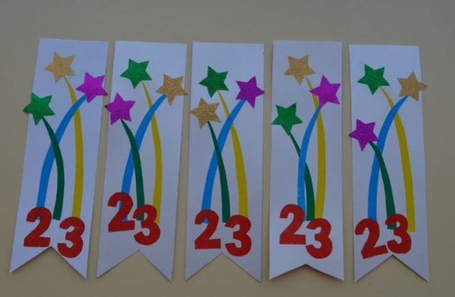 Подарки к 23 февраля своими руками в детском саду
