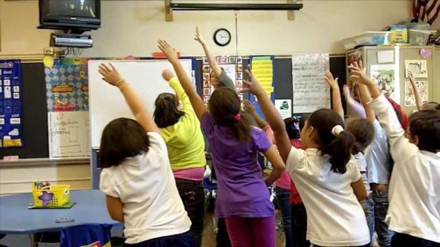 Веселые физкультминутки в начальной школе