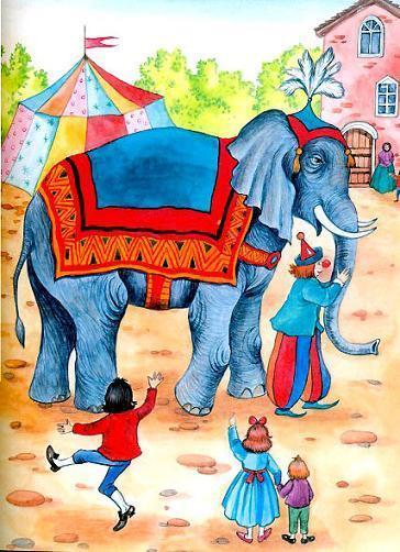 Крылов «Слон и Моська» читать онлайн