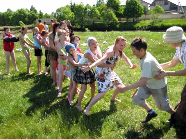 Спортивные игры в лагере