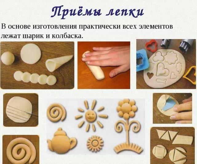 Фоторамка из соленого теста своими руками для детей. Мастер-класс с пошаговыми фото