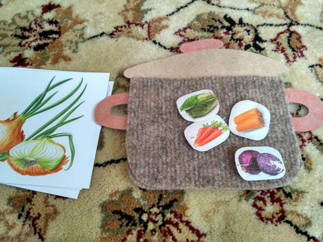 Задания на тему «Овощи» для детей 5-8 лет