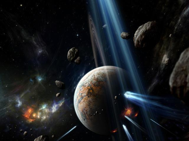 Мероприятие ко Дню космонавтики для старшеклассников