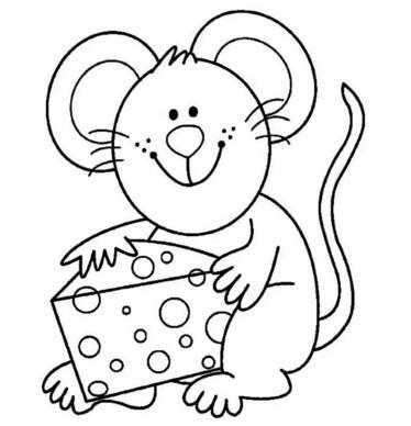Новогодние раскраски для детей 3-4 лет распечатать бесплатно