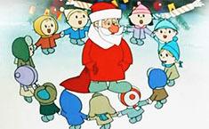 Дед Мороз и Снегурочка в детском саду